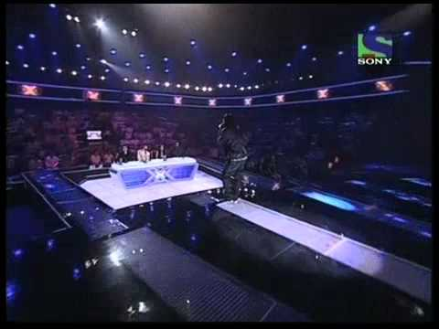 X Factor India - Piyush does a Blues version of Intehaan Ho...