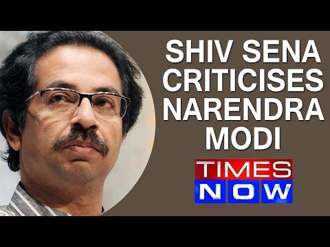 Shiv Sena mouthpiece criticises Narendra Modi