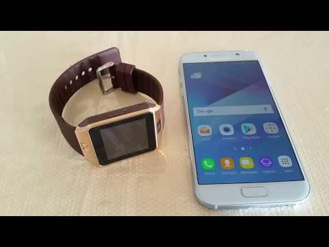 How to pair DZ09 Smart Watch to Samsung Galaxy A5/S7
