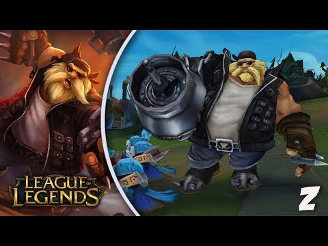 League of Legends - Gragas [Season 7, PT-BR]