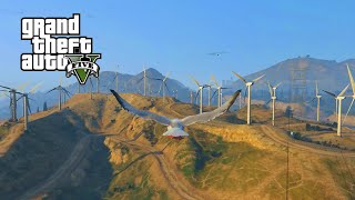 "GTA 5 - ""PLAY AS A SEAGULL"" - Easter Egg Tutorial Guide (Peyote Locations) (GTA V Next Gen PS4)"