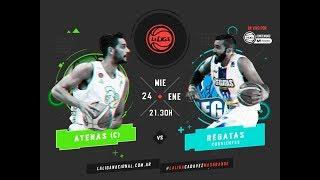 Liga Nacional: Atenas vs Regatas | LaLigaEnTyCSports