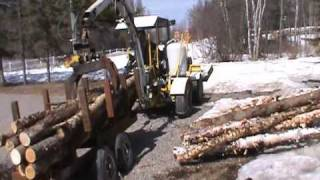 Unload Log Trailer.avi