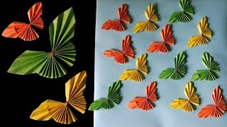 Easy Paper Butterfly Origami/DIY Paper Crafts