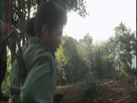 Kachin rebels protect base