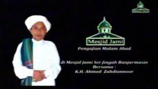 Pengajian Guru Zuhdi di Masjid Jami, Malam Ahad 7 Januari 2017