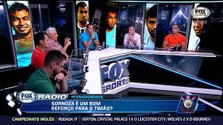 FOX SPORT RÁDIO》Sornoza é do Corinthians; sorteio da Sul-americana e muito +. 18/12/2018