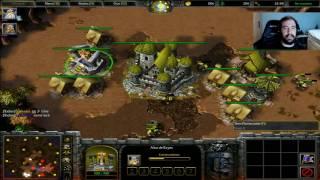WARCRAFT III: REIGN OF CHAOS | EL RUSH INFALIBLE y UN VIEJO CONOCIDO xD - Gameplay Español