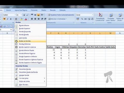 Excel 2007 - Modulo 1 - Aula 3 - Inserir dados e formulas basicas