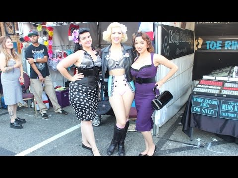 Meeting You at Ink N Iron and Pinup Pageant