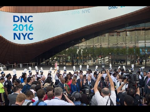 De Blasio Administration Hosts Media Availability to Kick-Off the DNC's NYC Site Visit