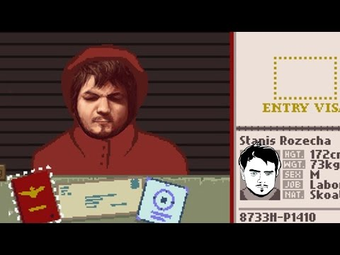 В ГУЛАГ!  Мэддисон играет в 25.08.2015  Papers, Please