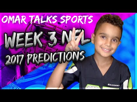 NFL Week 3 Predictions 2017-18