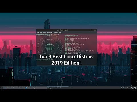 Top 3 Best Desktop Linux Distros | 2019 Edition
