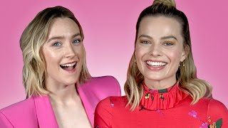 Saoirse Ronan And Margot Robbie Interview Each Other