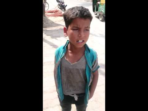 Sung by slum boy of kanpur (UP)