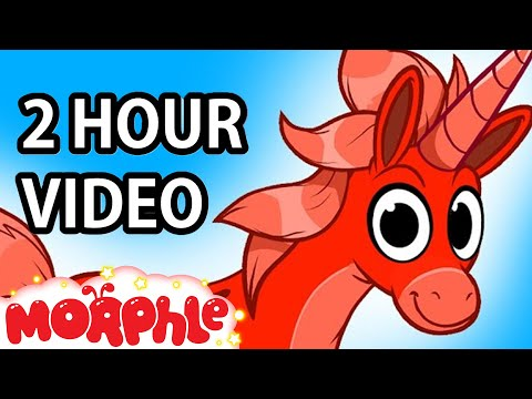 My Pet Unicorn (+ 2 hours of kids videos) My Magic Pet Morphle