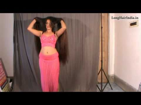 Almost Knee Length Romantic Long Hair Play video