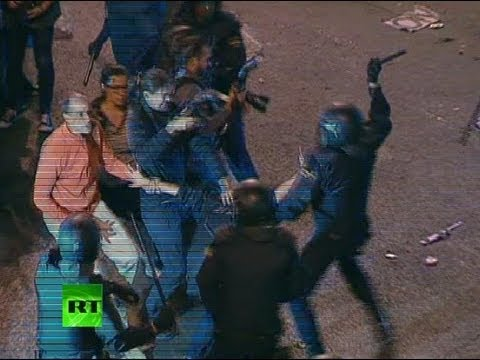 'Surround Congress' Madrid clashes: Dramatic footage of night violence in Spain