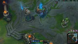 League of Legends  AP Nami mid The Zyra attack dam