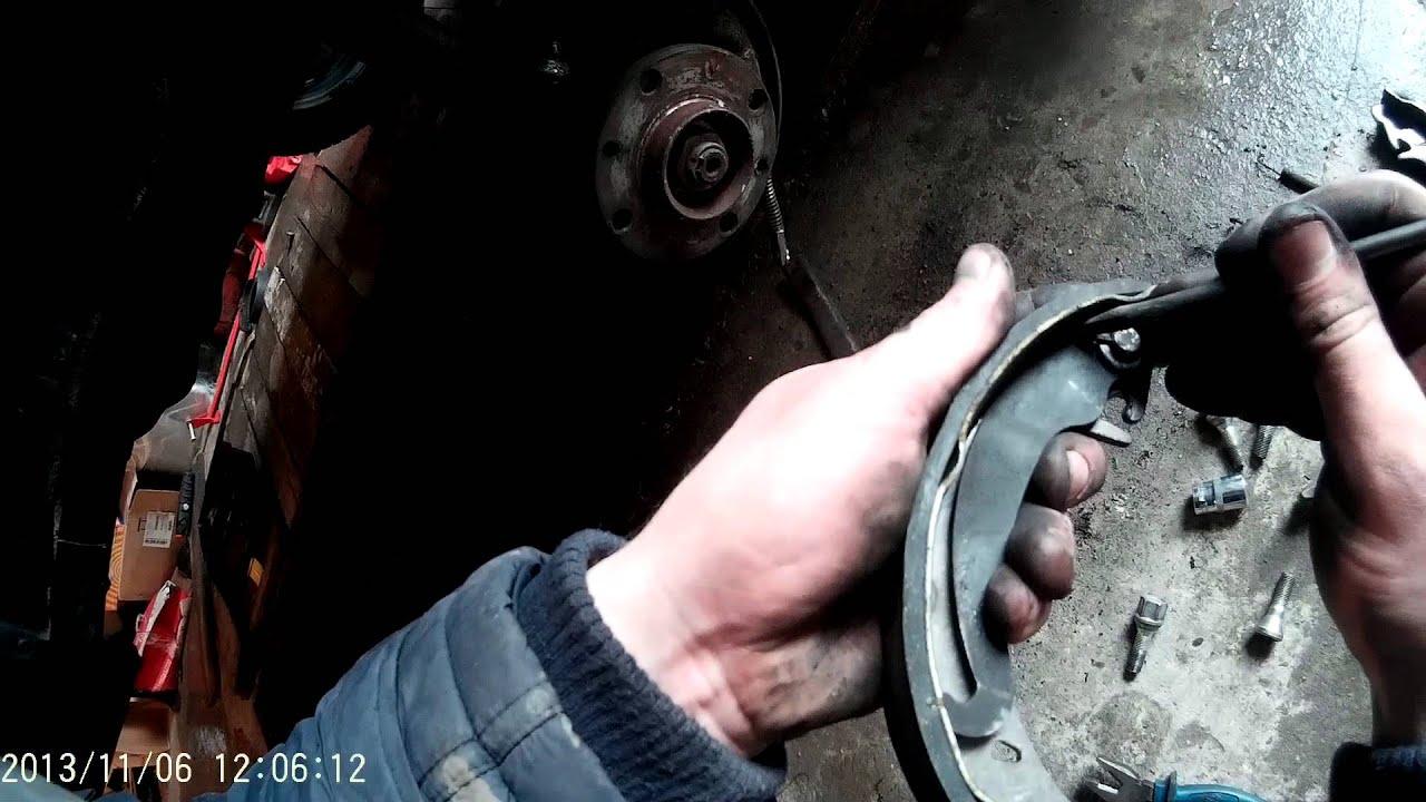 Ваз 2115 как сделать задние тормоза