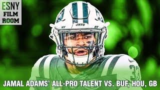 ESNY FILM ROOM: Jamal Adams' All-Pro Skills vs. Bills, Texans & Packers
