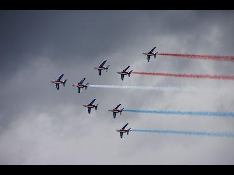 La Patrouille de France au Pays Basque 2016