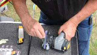 Sharpening a Broadhead or Arrowhead with the Work Sharp Knife Sharpener