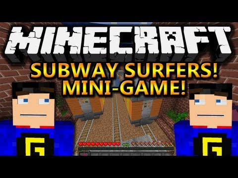 Minecraft: Subway Surfers -- NEW Mini Game Review