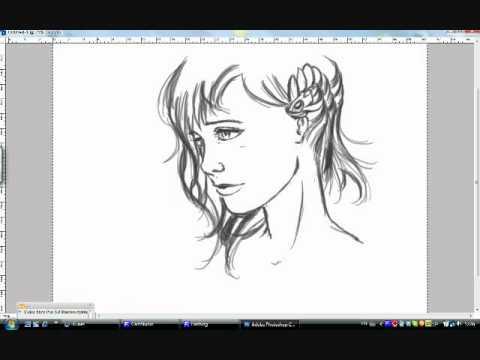 Comment dessiner un visage de profil youtube - Comment dessiner un but de foot ...