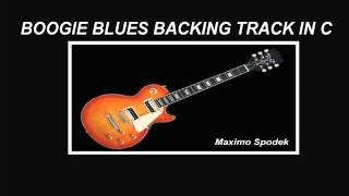 BOOGIE BLUES BACKING TRACK IN C, GUITAR, HARMONICA, KEYBOARDS