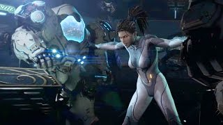 Kerrigan Goes Mad on Hyperion (Starcraft 2: Heart of the Swarm | Choices Cutscene)