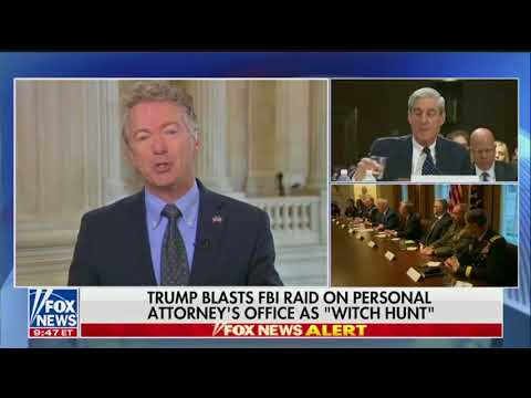 Fox News calls out Rand Paul's hypocrisy