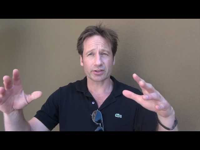 David Duchovny: how I ended up playing guitar with Marilyn Manson