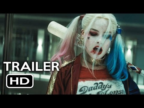 Suicide Squad Harley Quinn Trailer (2016) Jared Leto, Margot Robbie Action Movie HD
