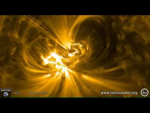 BREAKING NEWS: MAJOR SOLAR FLARE – 10 September 2014