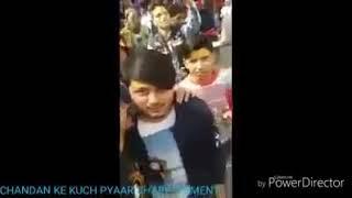 काशगंज तिरंगा यात्रा में शहीद चन्दन का आखरी वीडियो ।