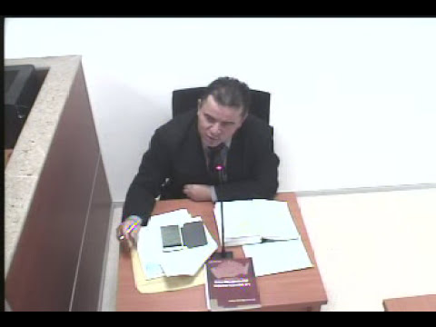 PRIMERA PARTE AUDIENCIA INICIAL  2012-00156 - Mag. WILLIAM HERNANDEZ