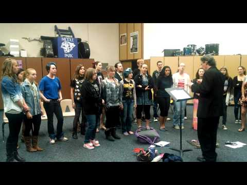 Wanting Memories - Middle Park High School Concert Choir - Granby, Colorado