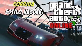 GTA 5 Online - Corrida épica estilo Nascar com a galera do comando