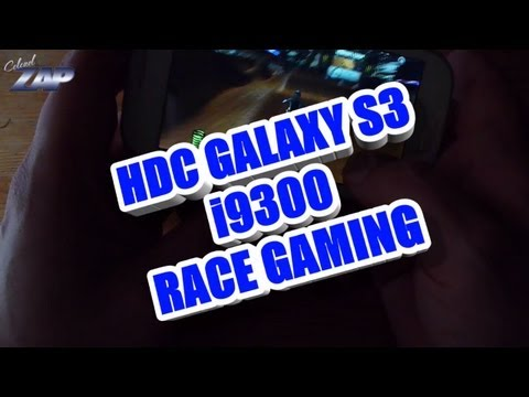 HDC Galaxy SIII i9300 MT6575 Race Gaming Test - Samsung S3 Copy Clone? beats iphone 5 clone