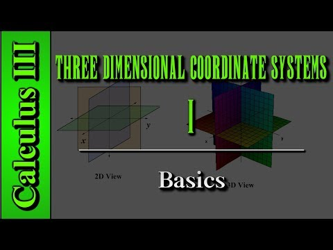Calculus III: Three Dimensional Coordinate Systems (Level 1 Of 10)
