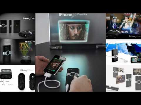 Mini Projector for iPhone 4 - 4S and 3GS