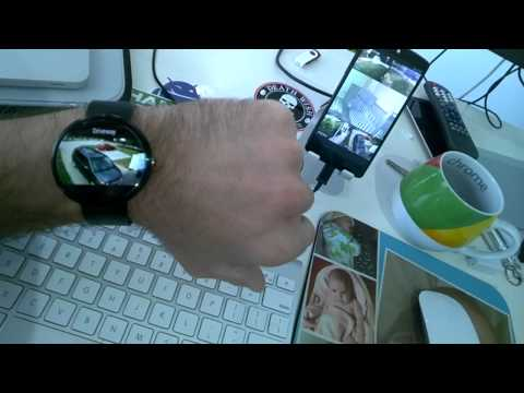 tinyCam Monitor Pro 5.6 Beta 8 on Android Wear Demo
