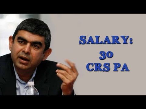 Vishal Sikka, Infosys CEO: Highest paid of all Indian CEOs?