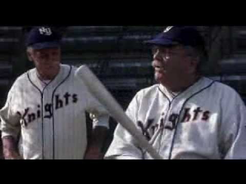 Robert Redford in the Natural - Batting Practice