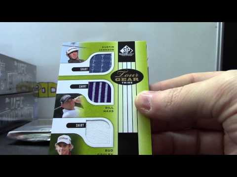 Tim's 2012 Sp Game Used Golf & 2011 Donruss Limited Cuts Baseball 3 Box Break