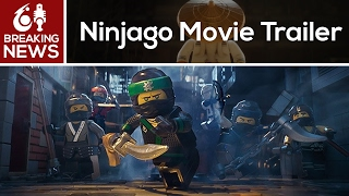 Lego Ninjago Movie Trailer Released!