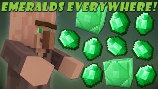 If Emeralds Weren't Rare - Minecraft