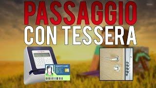 Passaggio Segreto con TESSERA PRIVATA password - Tutorial Minecraft ITA